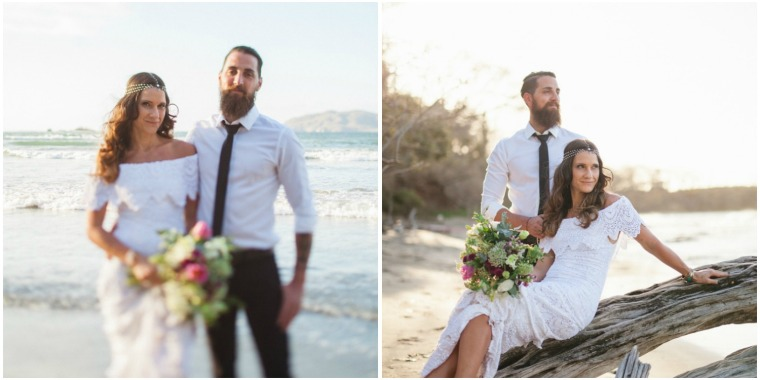 Wedding Make Up Tamarindo Costa Rica Boho Bohemian