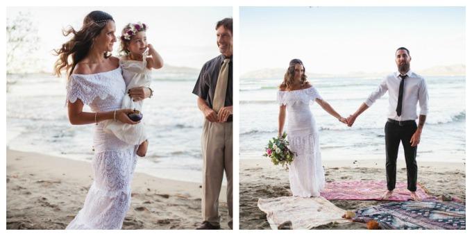 Wedding Make Up Tamarindo Costa Rica Boho Bohemian