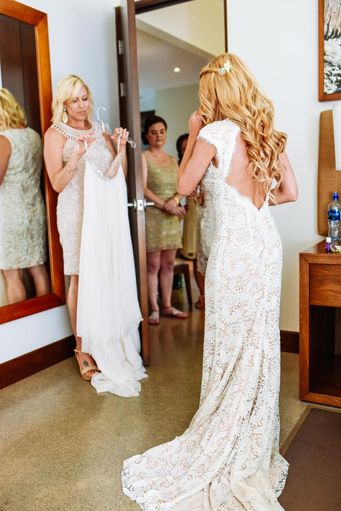 Costa Rica Wedding Make Up Artist Hair Boho Bohemian