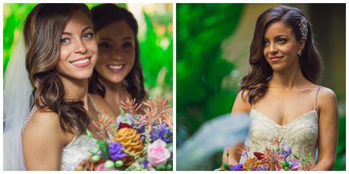 Costa Rica wedding make up artist