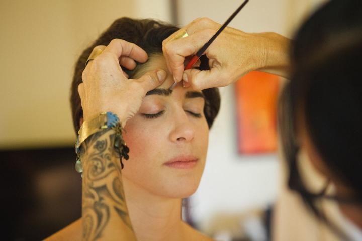 Maravilla Make-Up Bohemian Wedding Make-Up Artist Costa Rica