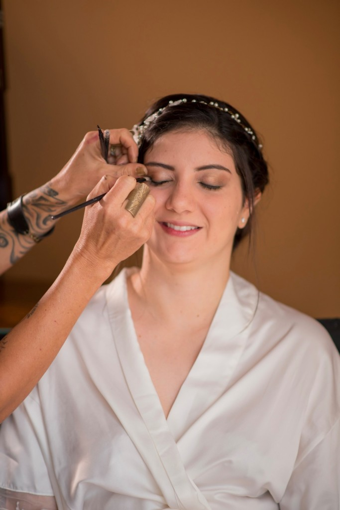 Costa Rica Wedding Bridal Make Up
