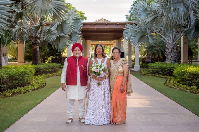 Indian Wedding Bridal Make Up Costa Rica